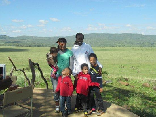 Lewa Wildlife Conservancy: The whole team