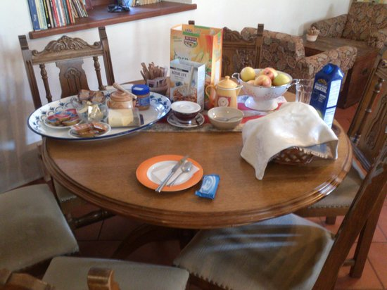 Vidiceva Hisa: Radovljica - Vidic House - breakfast table