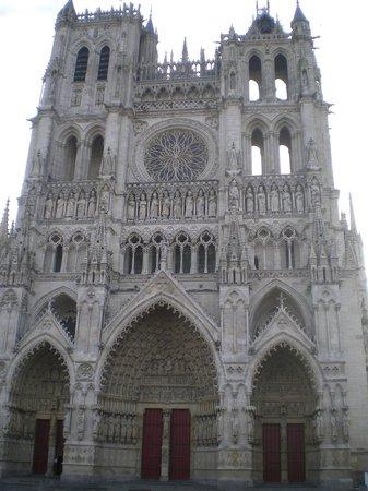 Cathédrale Notre-Dame d'Amiens : facade