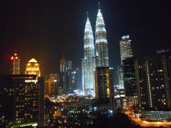 Renaissance Kuala Lumpur Hotel: View from our room