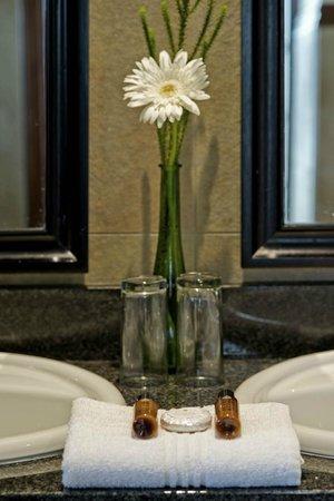 Champagne Sports Resort: Standard Room Bathroom