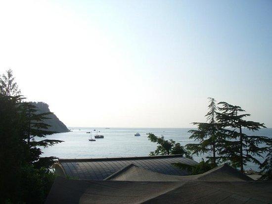 Barbara Piran Beach Hotel & Spa: Вид из окна отеля