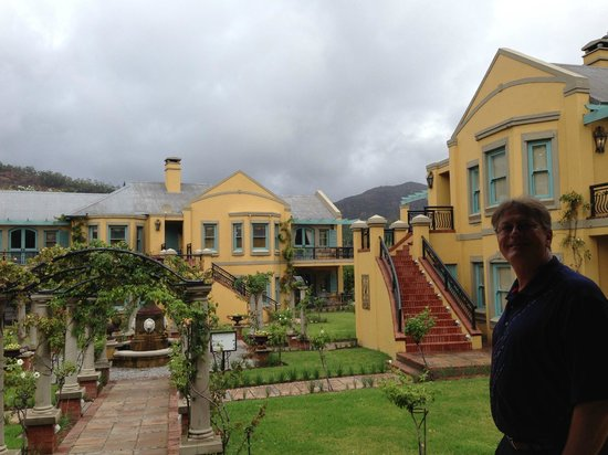 Franschhoek Country House & Villas: The beautiful grounds