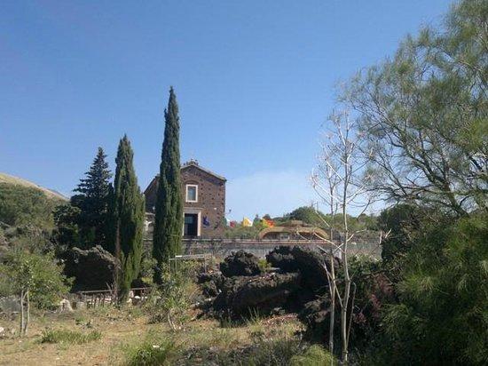 Mascalucia, Italie : Santuario Mompilieri panorama