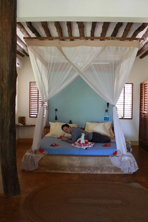 Green and Blue Ocean Lodge : Chambre
