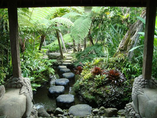 Dara Ayu Villas & Spa: garden