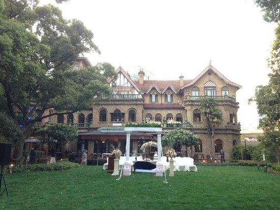 Hengshan Moller Villa Hotel: Hotel Garden