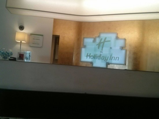 Hotel Holiday Inn Paris Gare Montparnasse: Hotel reception
