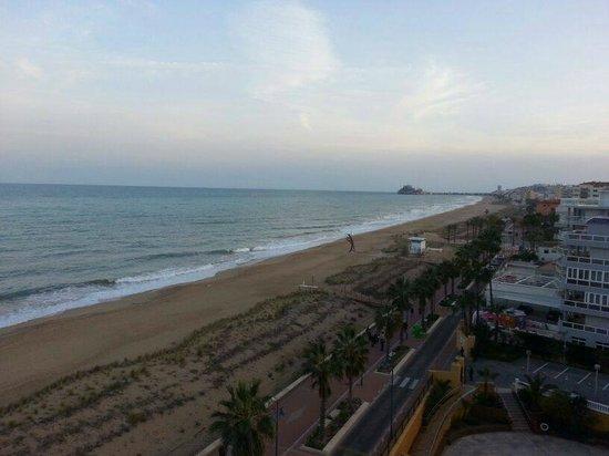 Gran Hotel Peñíscola: Vistas y playa