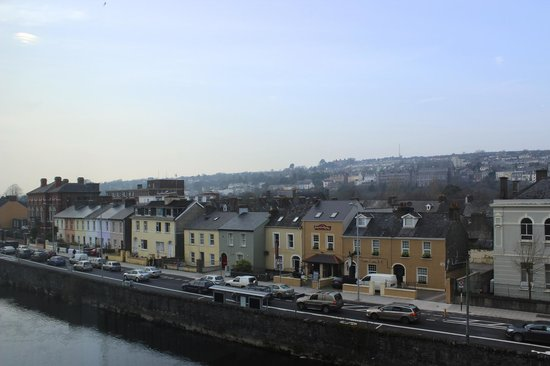 The River Lee : View from inside the hotel