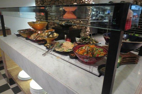 Bazaar Restaurant - salad bar