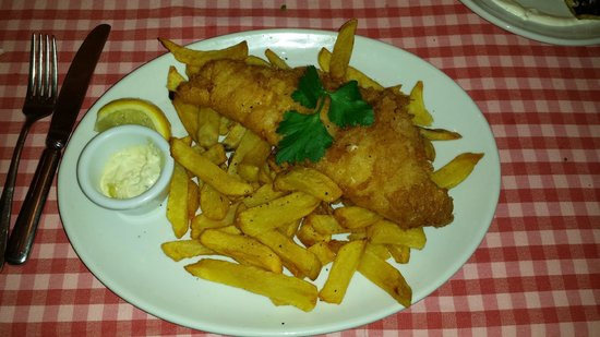The Shed Fish & Chip Bistro: Cod & Chips