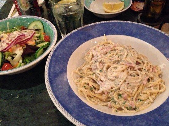 La Fattoria : Spaghetti Carbonara (Not on the menu)