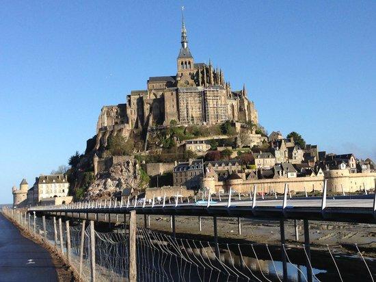 Abbaye du Mont-Saint-Michel : 全景