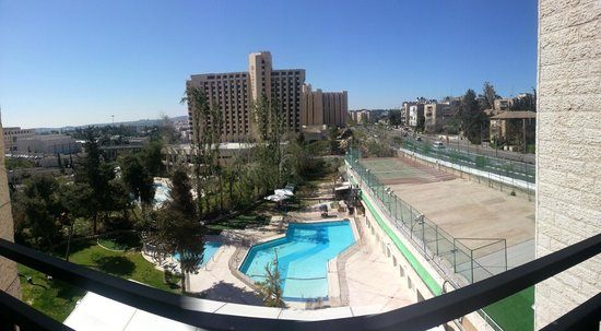 Jerusalem Gardens Hotel & Spa: Blick vom Balkon