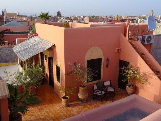 Riad Itrane : roof garden