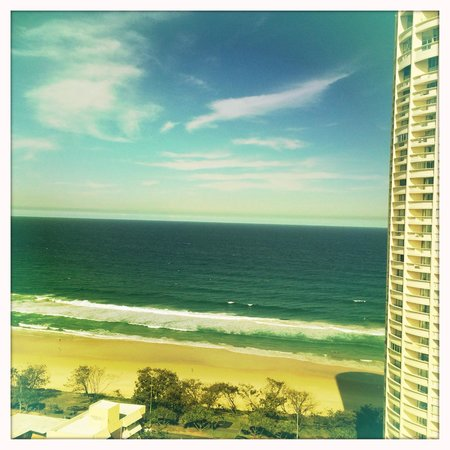 QT Gold Coast : The lovely view