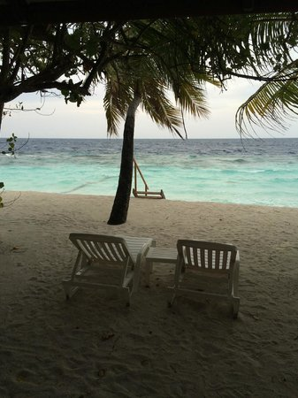 Diamonds Thudufushi : Vista dalla camera