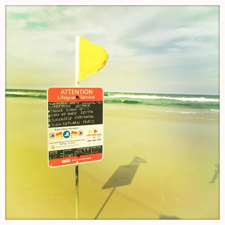 QT Gold Coast : Amazing beach