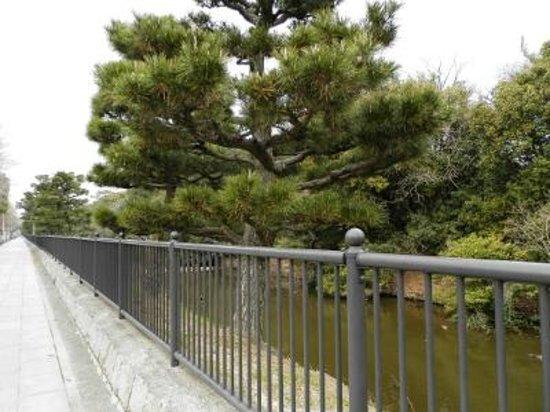 Daisenryo Ancient Tomb: 仁徳天皇陵南東の角