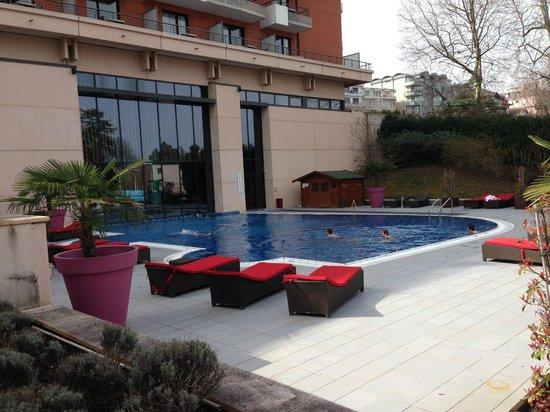 Spa Taaj: piscine
