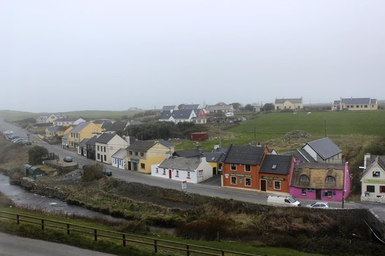 Sea View House Doolin: View from the room