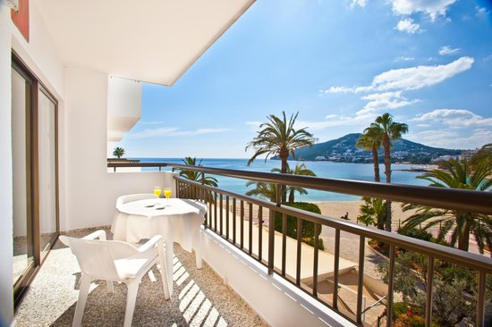 Apartamentos Bahia: Algunos apartamentos con terraza con vistas al mar