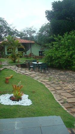 Bosque do Lapao: Area externa a recepção