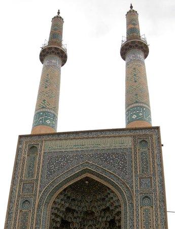 Jameh Mosque : Вид на мечеть