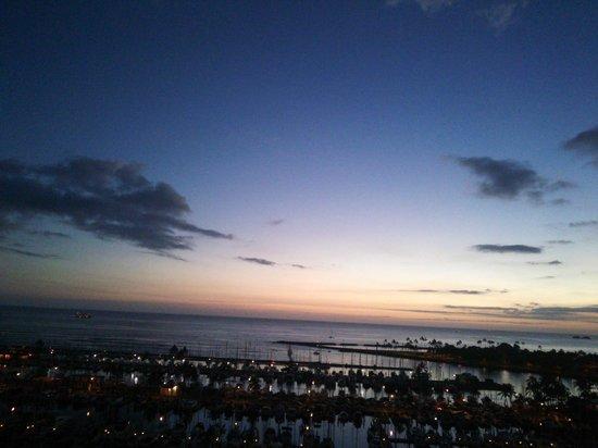 Hawaii Prince Hotel Waikiki: 良い眺め。