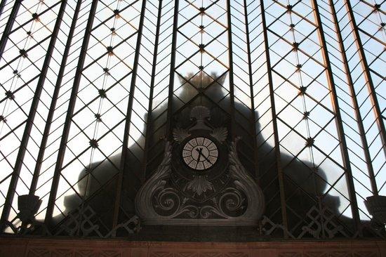 Estación de Atocha: Relógio por dentro da Estação