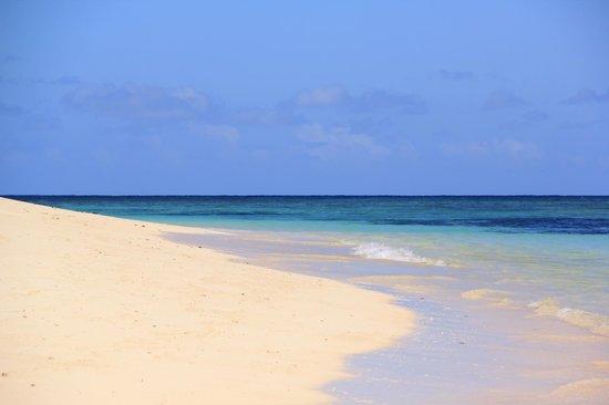 Mana Island Resort : Sunset Beach