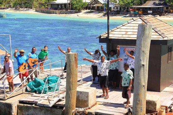 Mana Island Resort : Verabschiedung