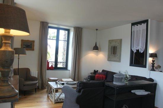 Villa Pen Prad : Le salon