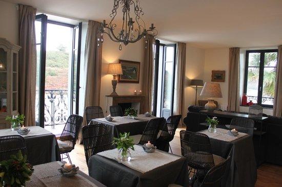 Villa Pen Prad : La salle à manger