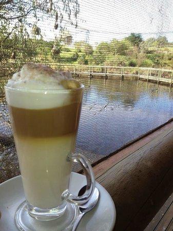 Latte at Jandaya cafe
