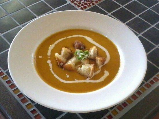 Jandaya Cafe: Jandaya butternut soup