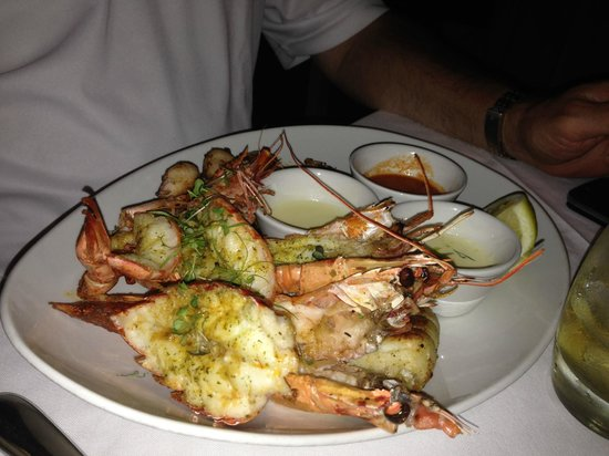 Paranga : The very ample seafood platter