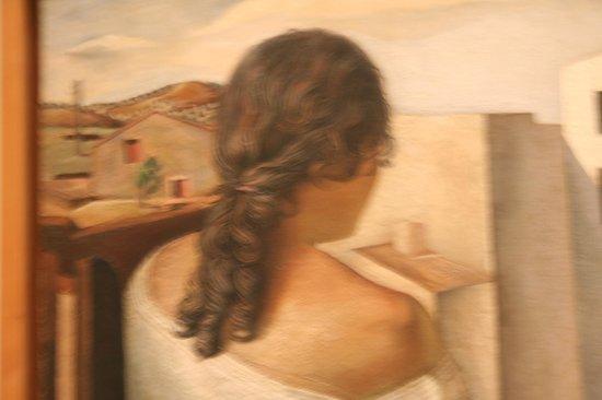 Musée Reina Sofía : Rapariga sentada de costas - Dali