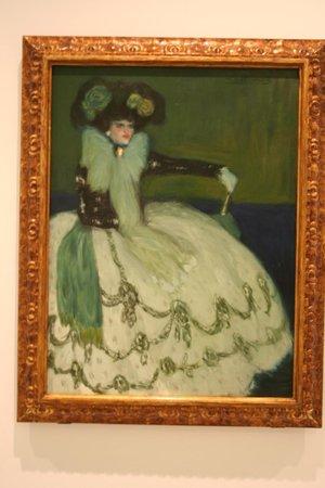 Musée Reina Sofía : A mulher de Azul - Picasso