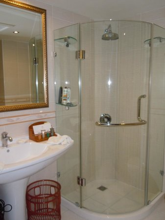 Excelsior Grand Hotel: Douche