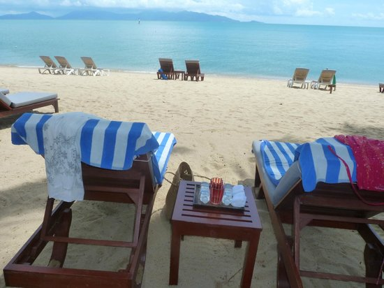Santiburi Beach Resort & Spa: Strand