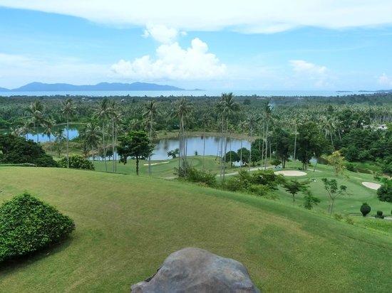 Santiburi Koh Samui: Tolle Aussicht vom Golfplatz