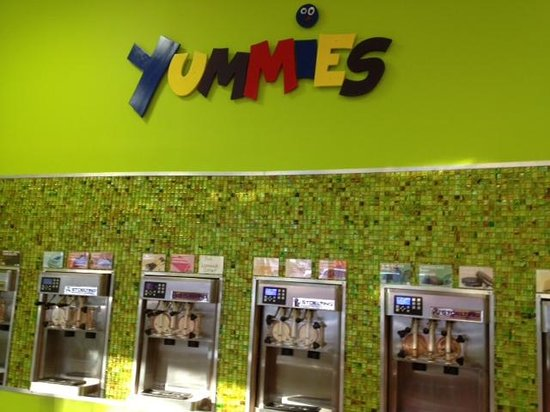 Yummies Frozen Yogurt and Speciality Coffee : Yummies - frozen yogurt machines