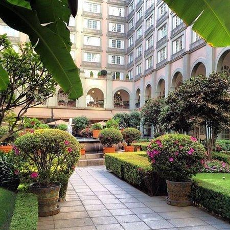 Four Seasons Mexico City: Jardim central