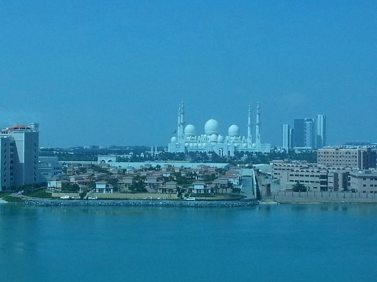 Fairmont Bab Al Bahr : Awesome skyline and view of the Grand Mosque