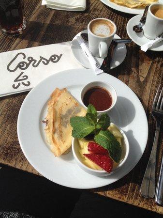 Corso Trudaine : Café gourmand!