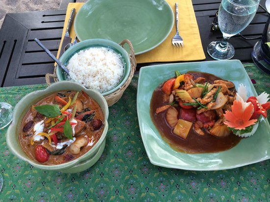 Krua Bophut: full main courses