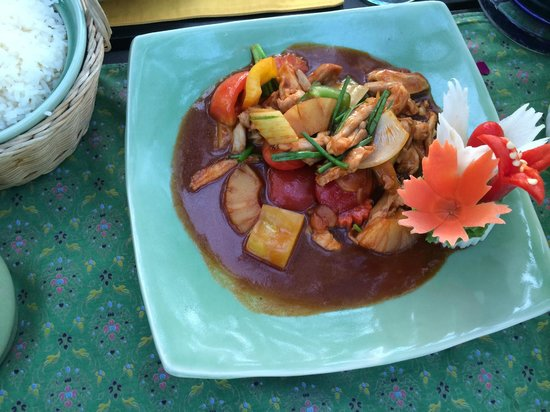 Krua Bophut: chicken sweet and sour