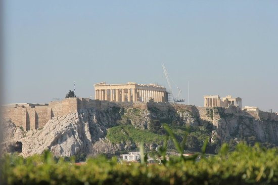 Hotel Grande Bretagne, A Luxury Collection Hotel : acropolis  day view